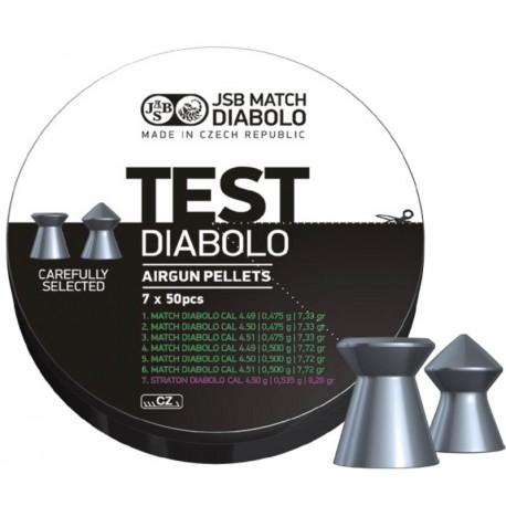 JBS Match Diabolo Test (pistole) - 4,5mm