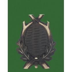 Prelov štítek srnec pro seřízlou lebku - 14x19cm