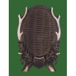 Prelov štítek jelen pro seřízlou lebku - 24x38cm