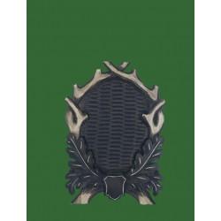 Prelov štítek jelen pro seřízlou lebku - 28x40cm