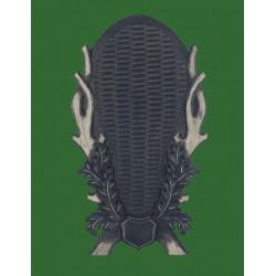 Prelov štítek jelen pro celou lebku - 32x58cm