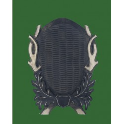 Prelov štítek jelen pro celou lebku - 39x54cm