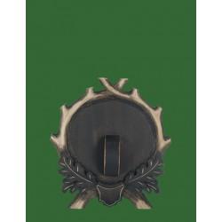 Prelov štítek divočák - 23x25cm