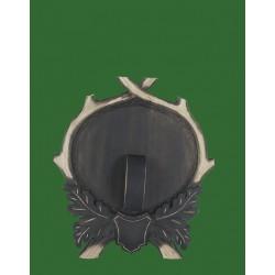 Prelov štítek divočák - 25x28cm