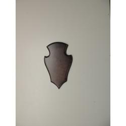 Prelov štítek srnec frézovaný malý - 13x22cm
