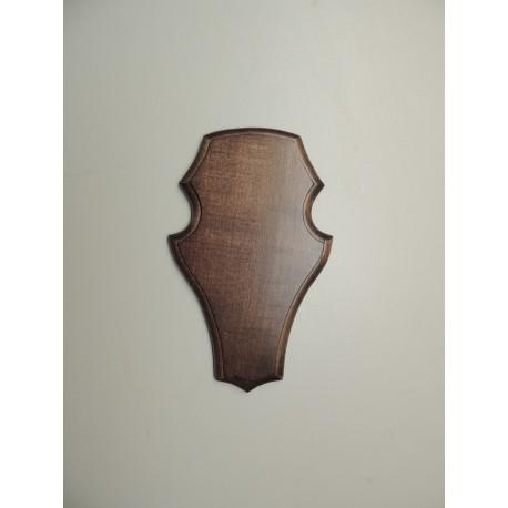 Prelov štítek srnec frézovaný velký - 15,5x22,5cm