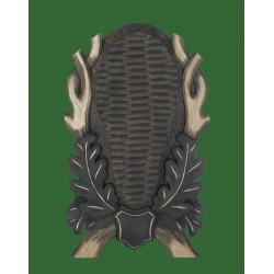 Prelov štítek daněk - 23x37cm