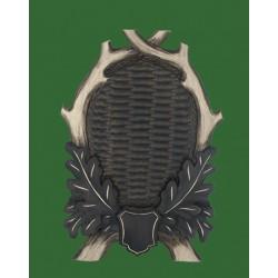 Prelov štítek daněk - 25x36cm