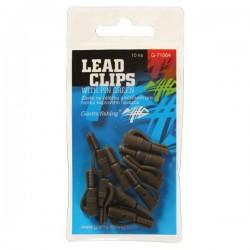 Závěs na zátěžku Lead clips with pin