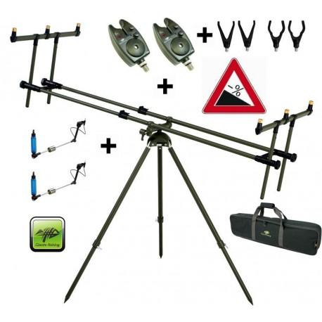 Giants fishing Stojan Tri Pod Specialist 3 Rods +2x hlásič +2x indikátor zdarma!